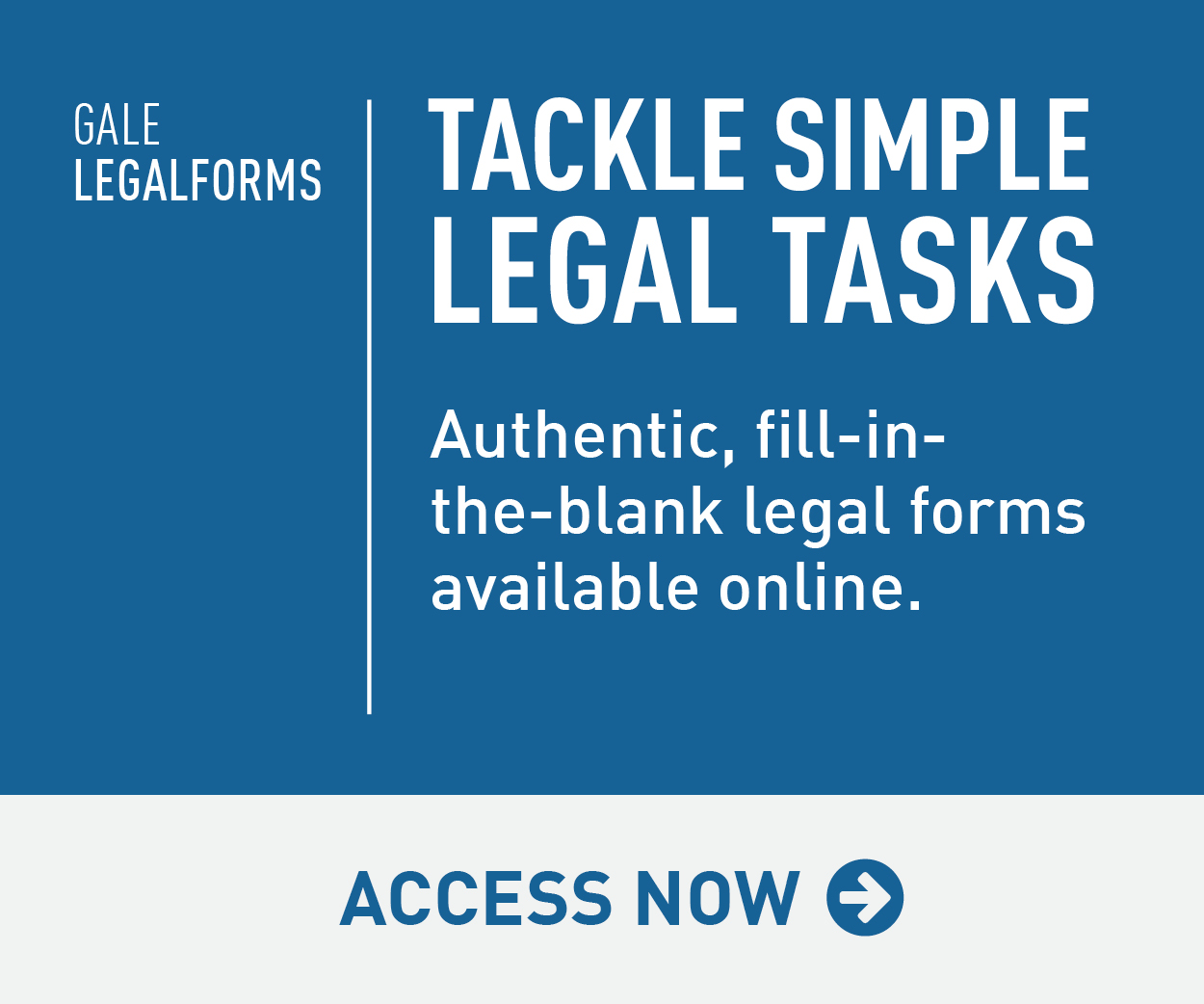 Gale Legal Forms Library
