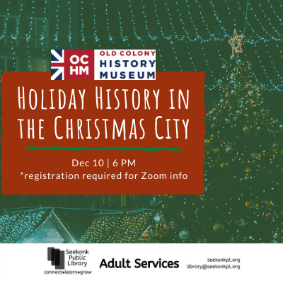 holiday history in Christmas City image