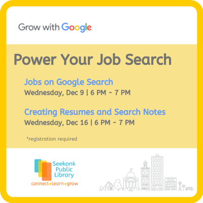power your job search series image